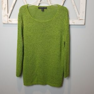 Josephine Chaus green sweater Large